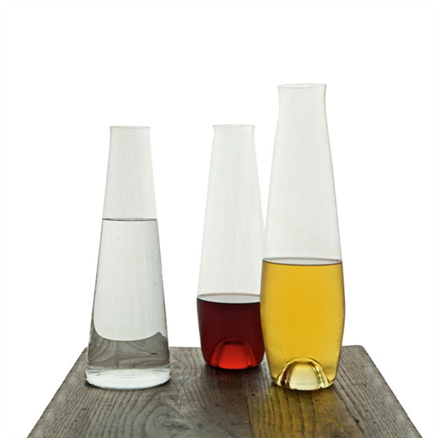 Blue Hill Decanters by Deborah Ehrlich