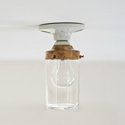 Crystal Jelly Jar light fixture by Deborah Ehrlich
