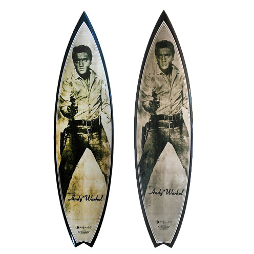 Elvis Surfboard by Andy Warhol