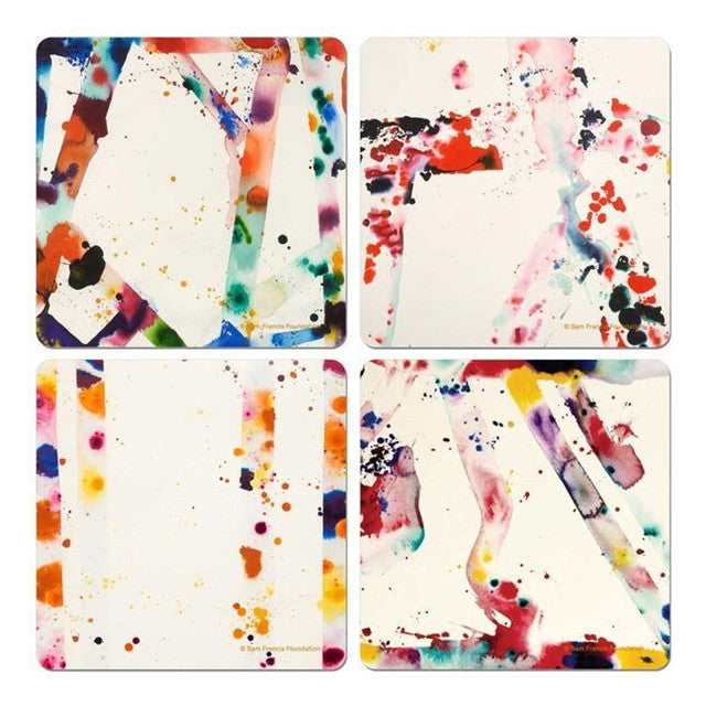 Coasters by Sam Francis