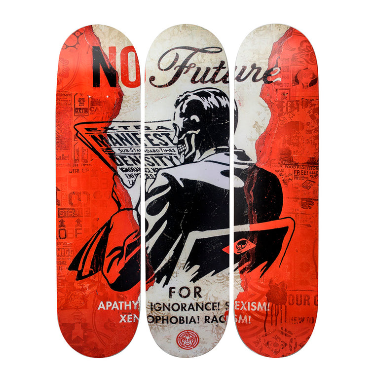 No Future by Shepard Fairey