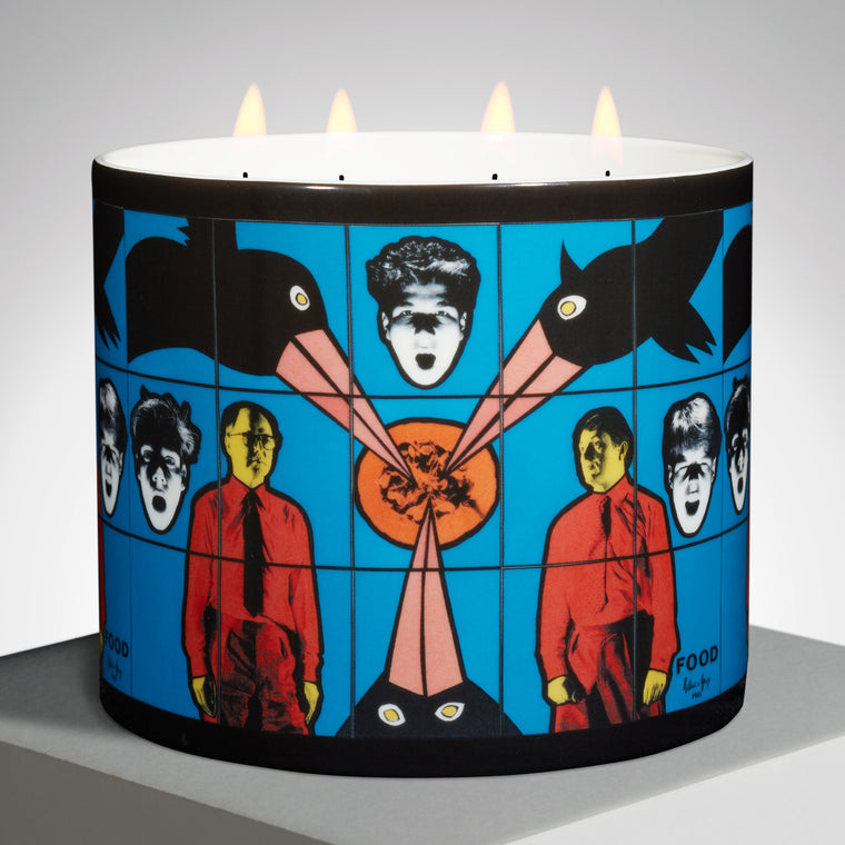Blue Candle by Gilbert & George
