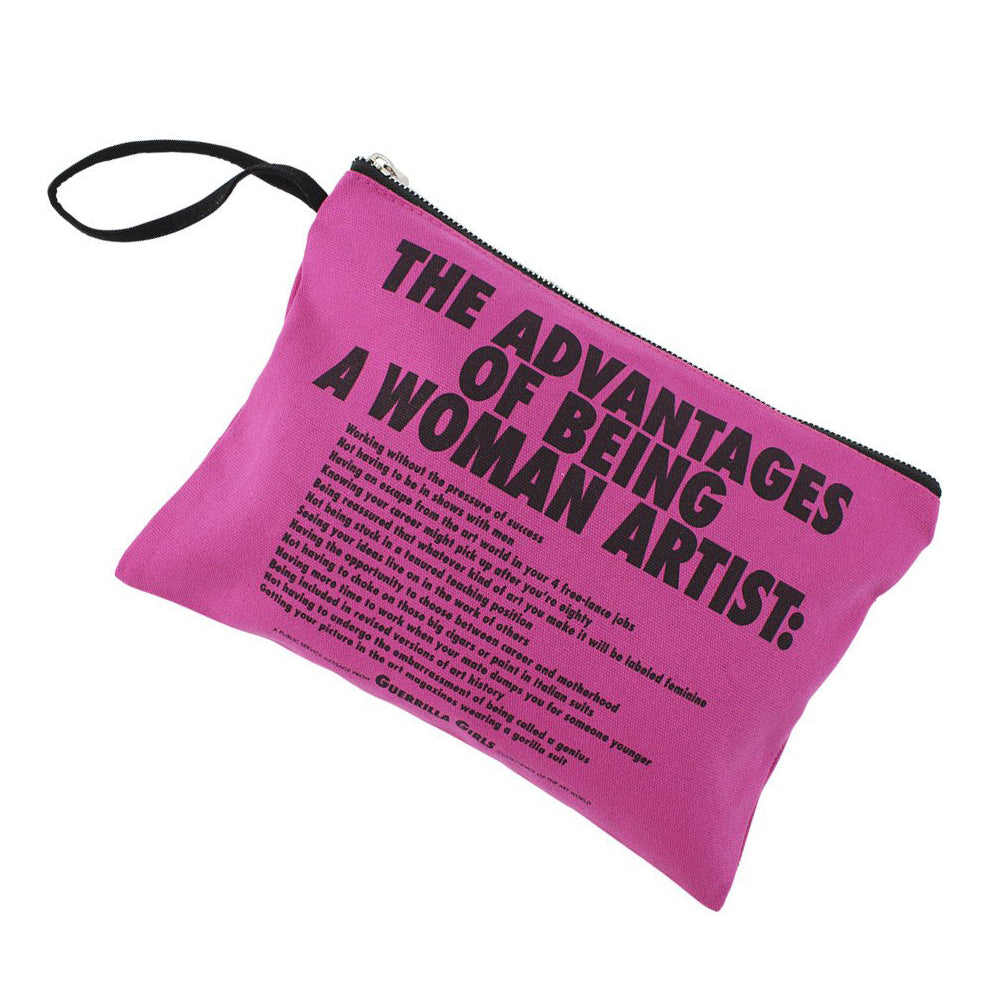 Advantages... Clutch by Guerrilla Girls
