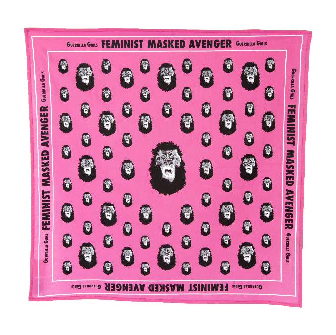 Gorilla Bandana by Guerrilla Girls