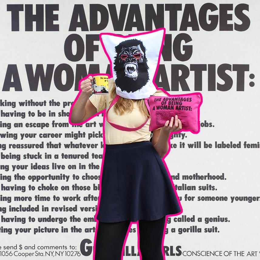 Tote by Guerrilla Girls