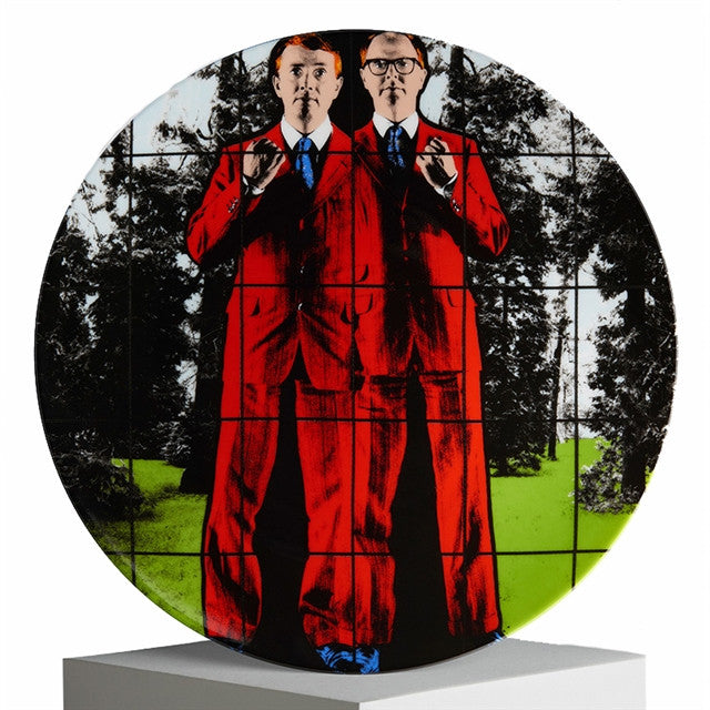 Plate by Gilbert & George