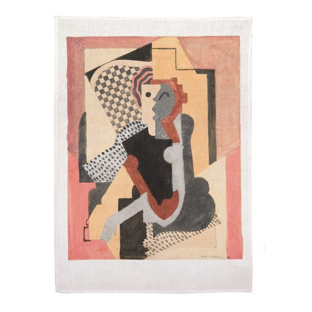Kitchen Towel by Albert Gleizes