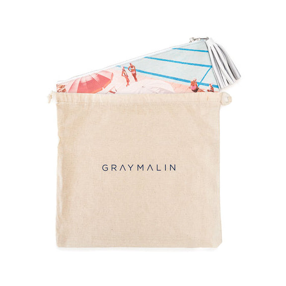 Coral Casino Pouch by Gray Malin