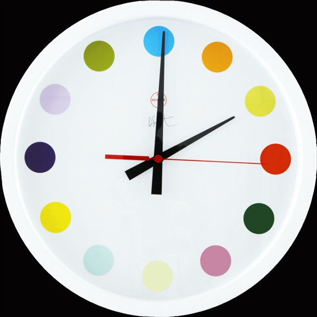 Spot Clock by Damien Hirst