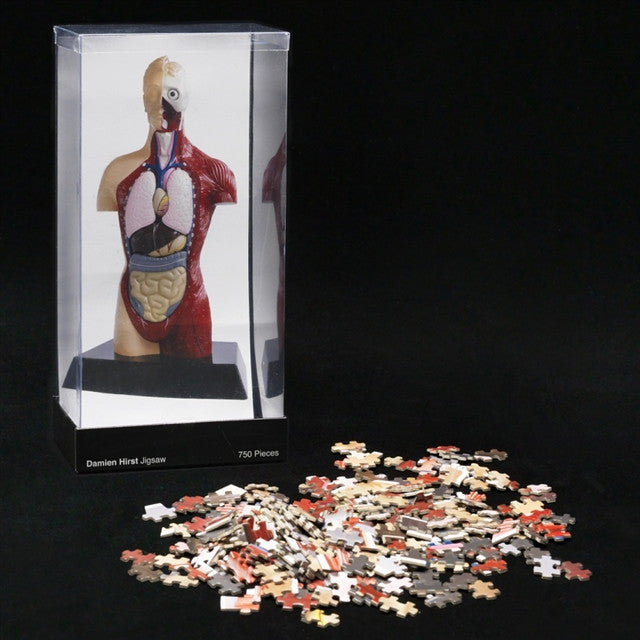 Hymn Puzzle by Damien Hirst