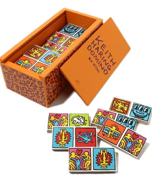 Dominoes by Keith Haring