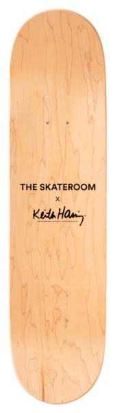 Untitled (Snake) Skateboard Deck after Keith Haring