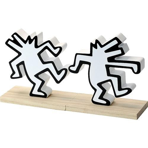 Bookends by Keith Haring