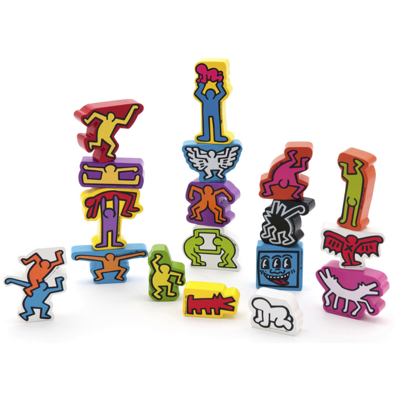 Stacking Figures by Keith Haring