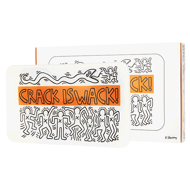 Tray (crack) by Keith Haring
