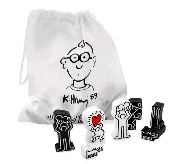Chess Set by Keith Haring