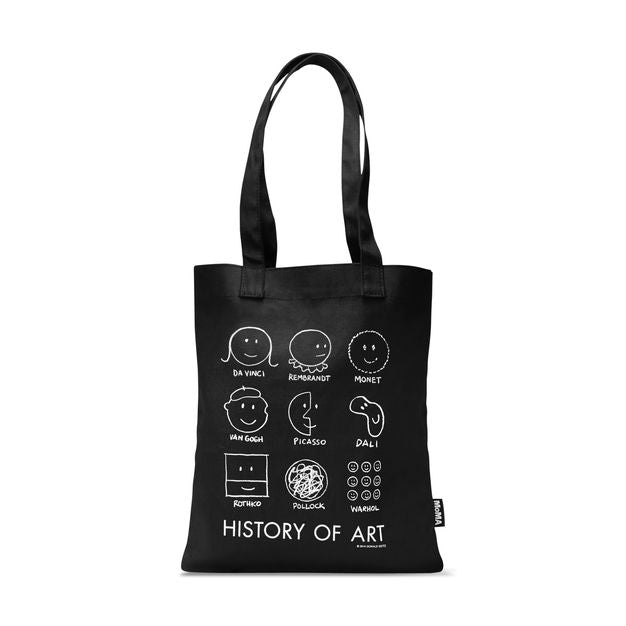 History of Art Tote by Donald Seitz