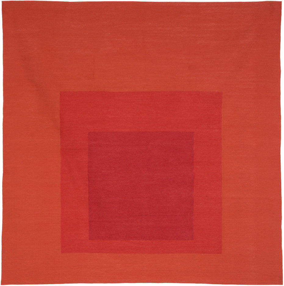 Homage to the Square: Less and More (Tapestry) by Josef Albers