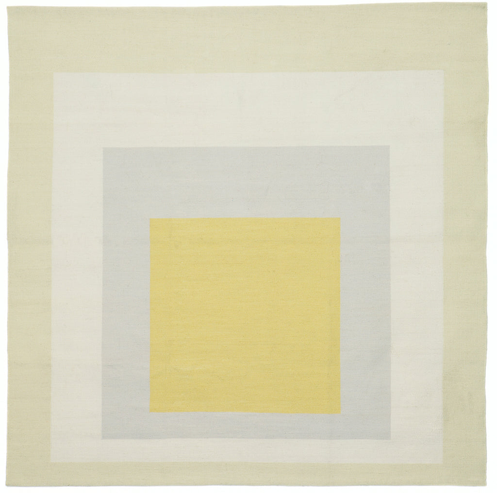Homage to the Square: Yellow Eden (Tapestry) by Josef Albers