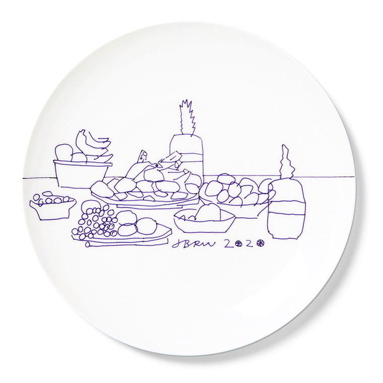 Plate by Jonas Wood