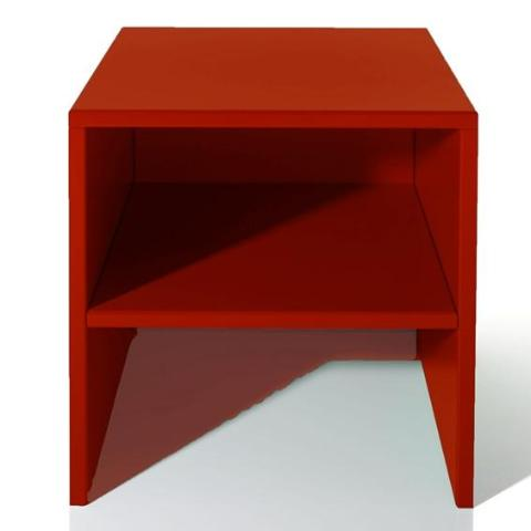 Stool/table by Donald Judd