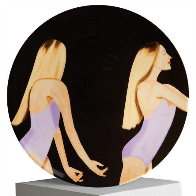 Plate (Sara Mearns) by Alex Katz