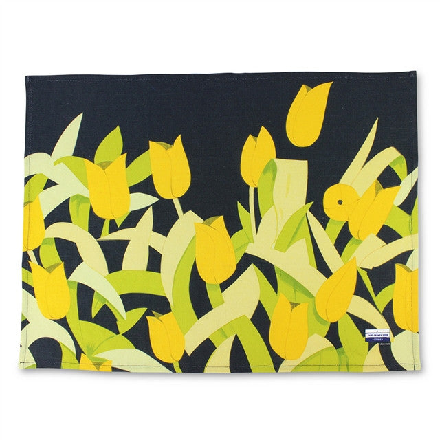 Tulips Tea Towel by Alex Katz