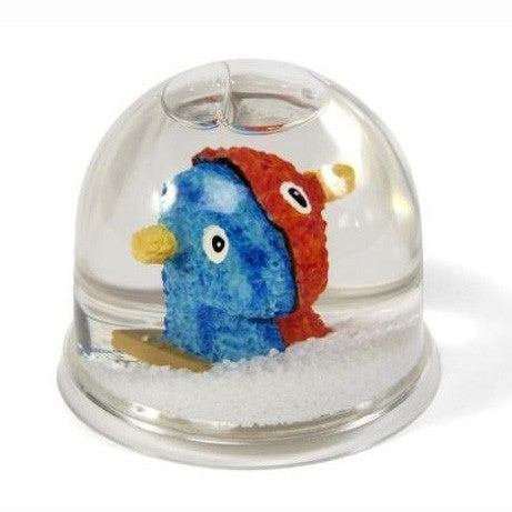 Split Rocker Snow Globe by Jeff Koons