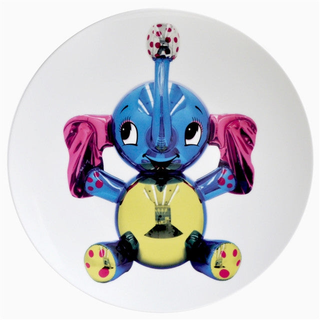 Elephant Plate by Jeff Koons