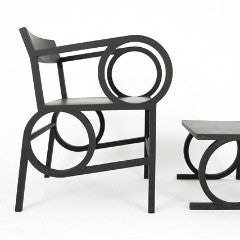 Circle Arm Chair by Christopher Kurtz