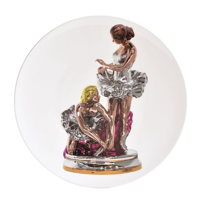 Ballerinas Plate by Jeff Koons