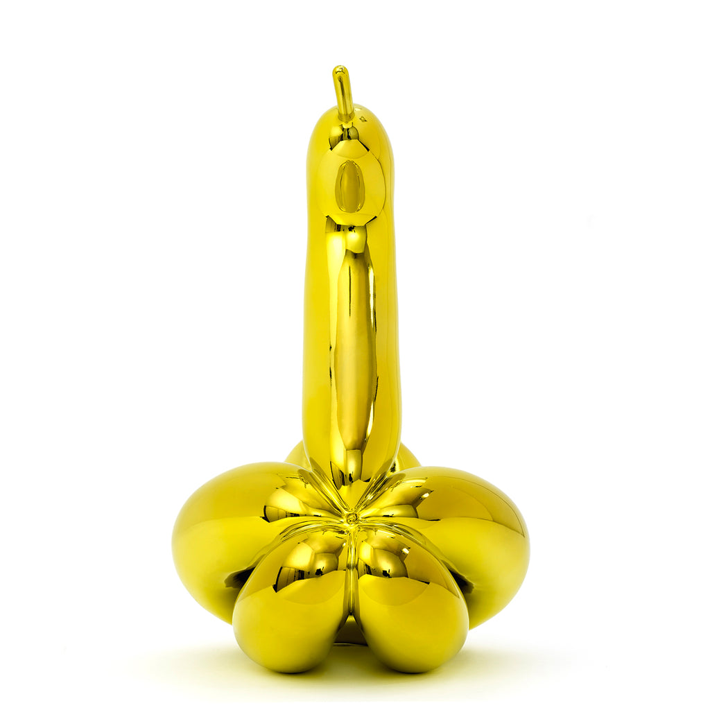Balloon Swan (Yellow) by Jeff Koons