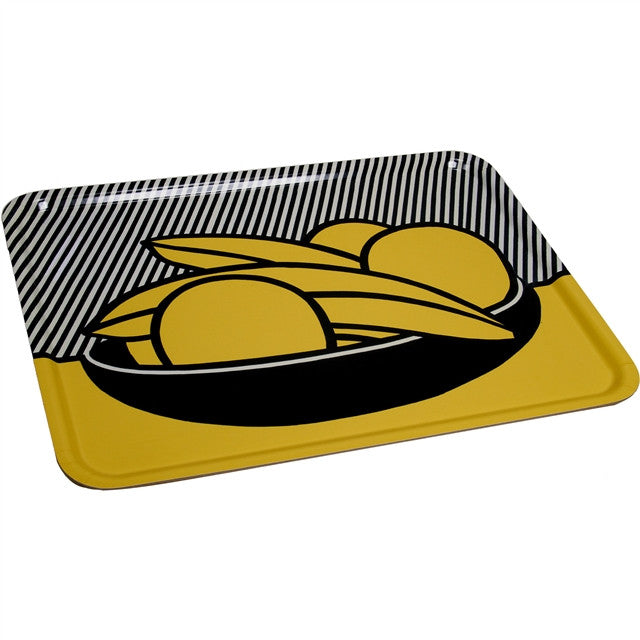 Bananas and Grapefruit Tray by Roy Lichtenstein