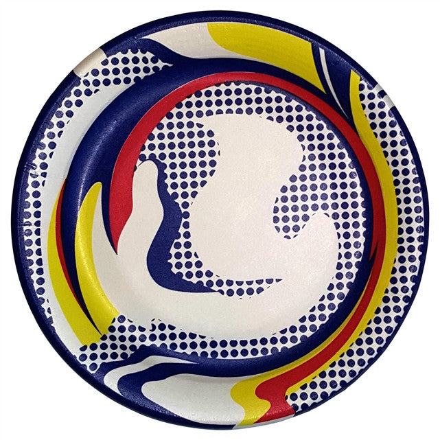 Paper Plate Set by Roy Lichtenstein