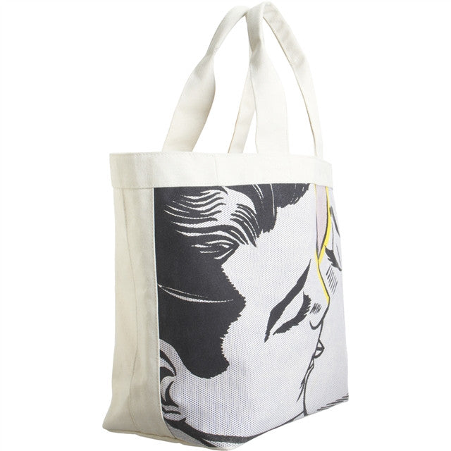 Kiss IV Tote by Roy Lichtenstein