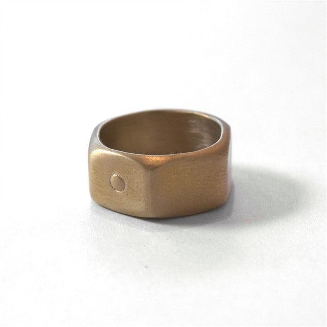 <i>Brass Nut Ring</i> by Michelle Lopez