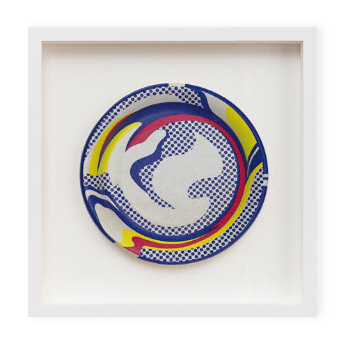 Paper Plate (1969 edition) by Roy Lichtenstein