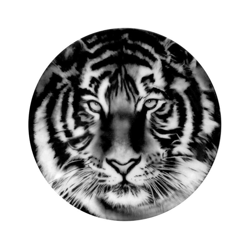 Tiger Plate by Robert Longo