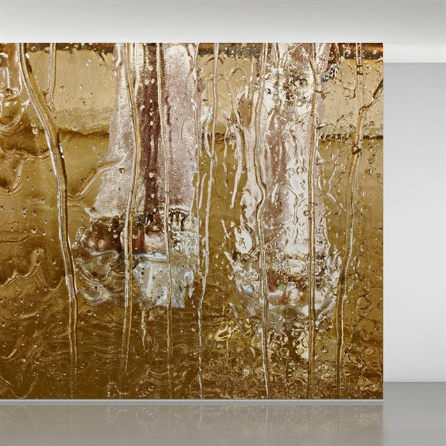 Goldkicker wallpaper by Marilyn Minter