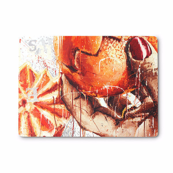Hot Pad (Orange) by Marilyn Minter