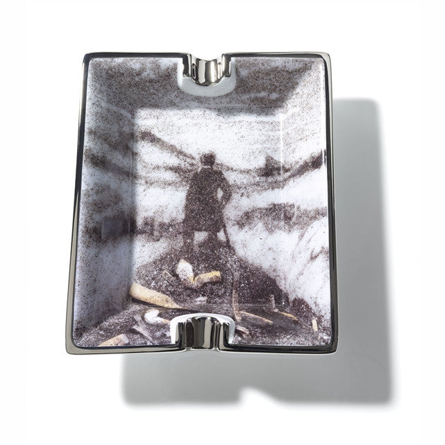 Untitled (Wanderer Ashtray) by Vik Muniz