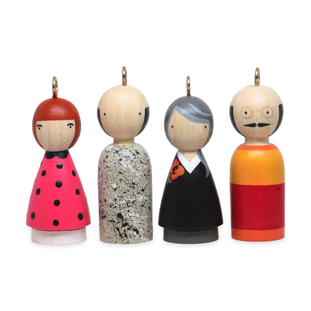 Modern Artists Ornament Set II