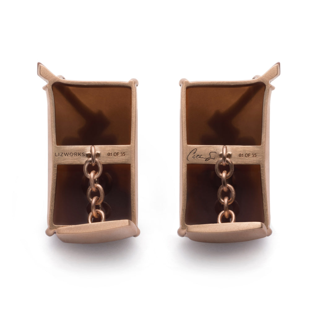 Munch's Log Cufflinks by Catherine Opie