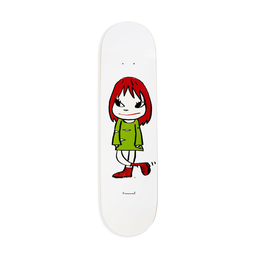Welcome Girl Skateboard by Yoshitomo Nara