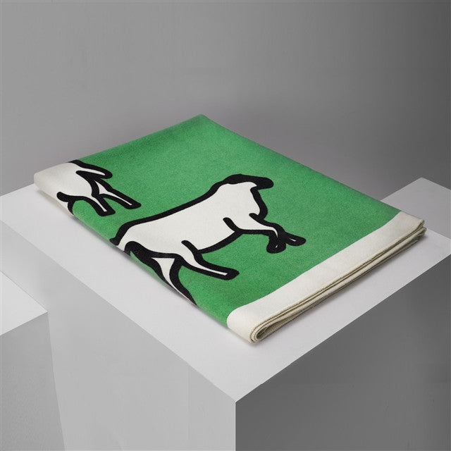 Sheep Blanket by Julian Opie
