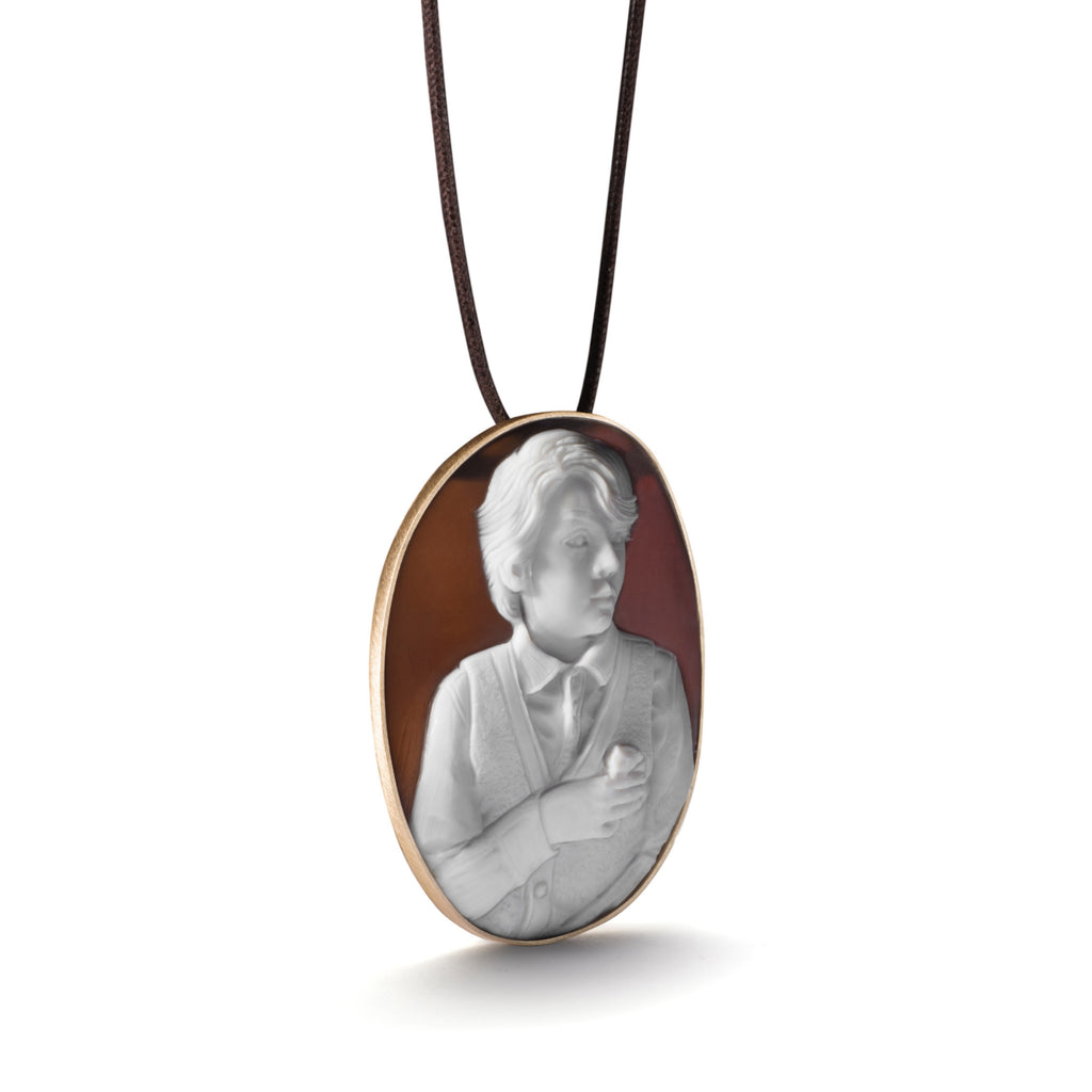 Oliver and Mrs. Nibbles Necklace by Catherine Opie