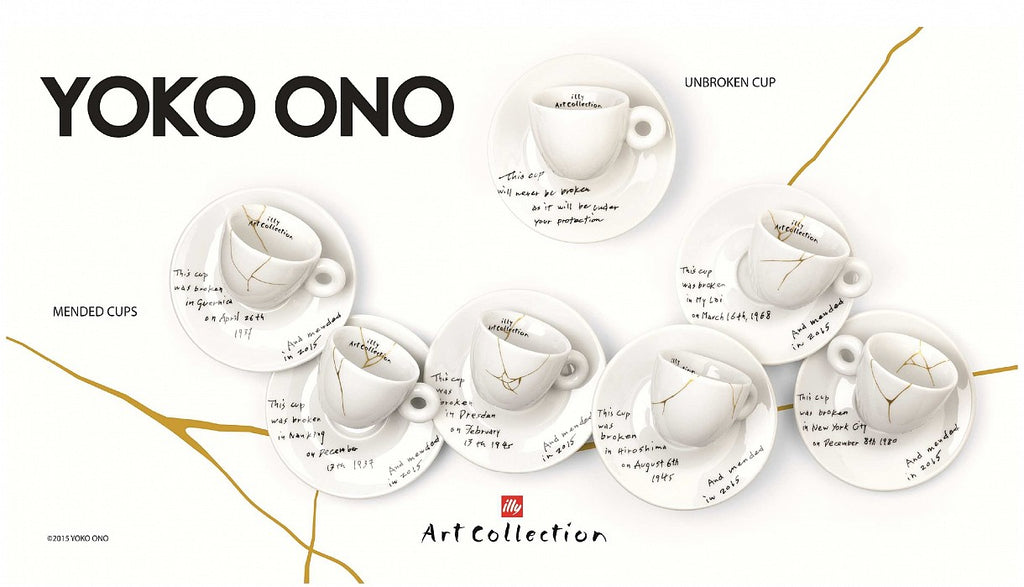 Mended Cups by Yoko Ono