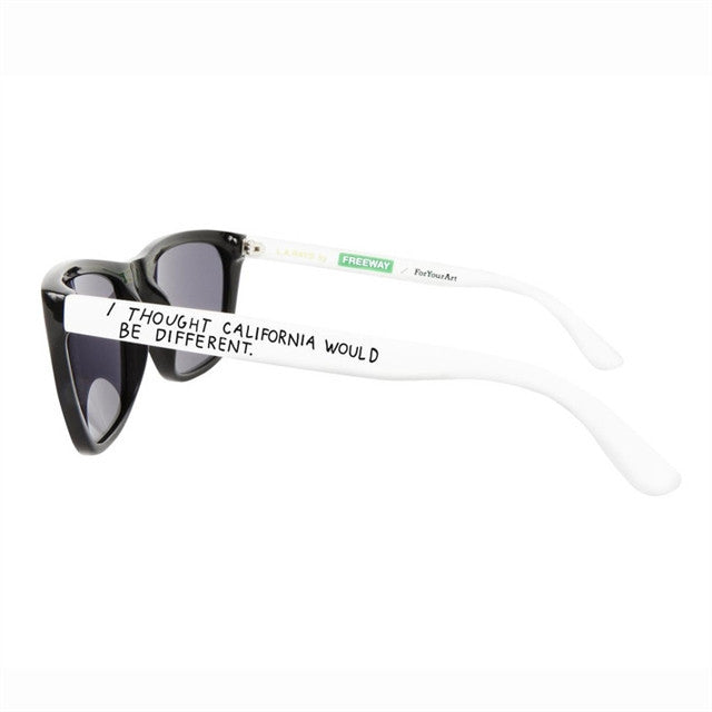 Sunglasses by Raymond Pettibon