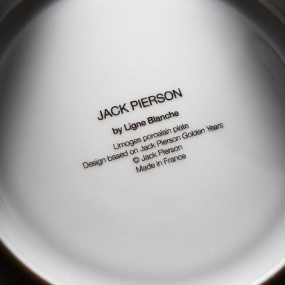 Plate by Jack Pierson