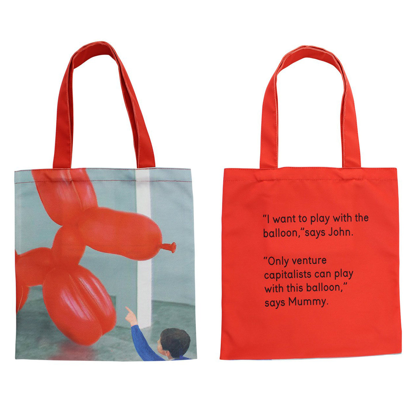 I Want to Play   Tote by We Go to the Gallery